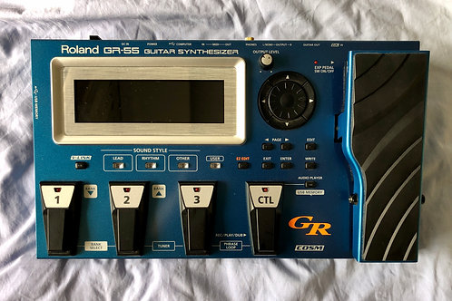Roland GR-55 Guitar Synthesizer with GK-3 Pickup (VG) - SOLD
