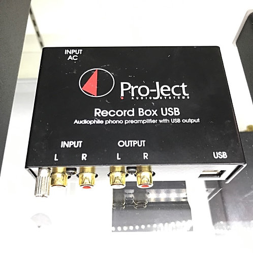 Project Audio Systems Record Box USB - SOLD