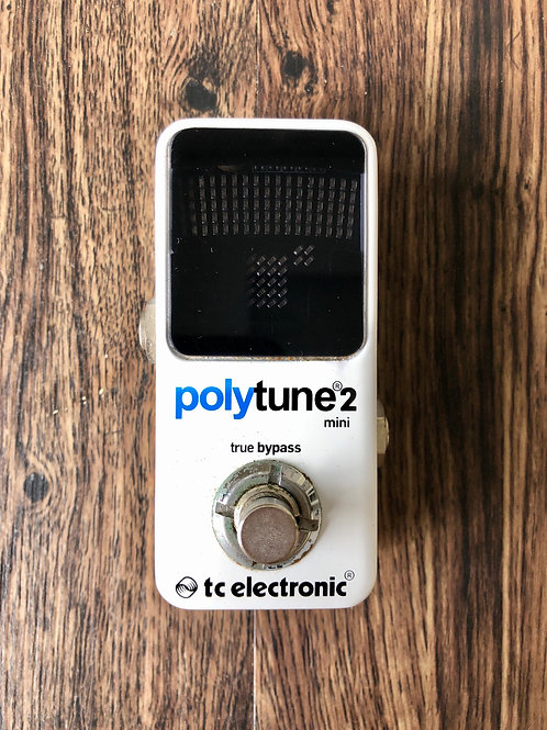 TC Electronic PolyTune Mini 2 Tuner Guitar Pedal (G) - SOLD