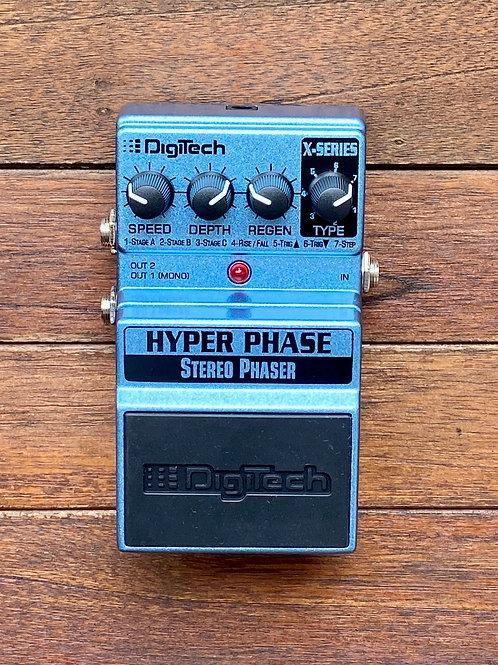 DigiTech Hyper Phase Stereo Phaser Pedal c/w original box, etc. (New)