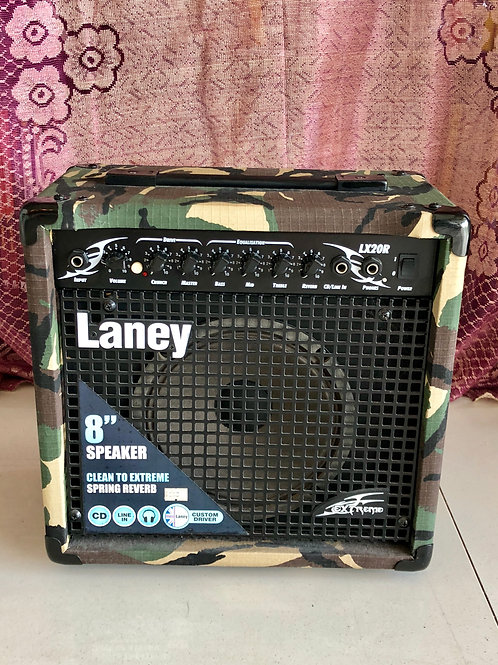 Laney LX20R Camo Electric Guitar Amplifier (VG) - SOLD