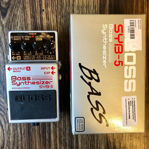 Boss SYB-5 Bass Synthesizer (VG) - SOLD