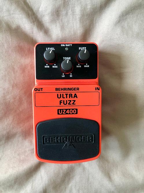 Behringer UZ400 Ultra Fuzz Pedal (EXC) - SOLD
