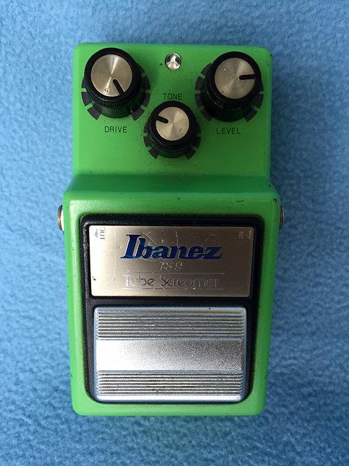 1982 Ibanez Tube Screamer TS-9 JRC4558D Feb 1982 MIJ (VG) - SOLD