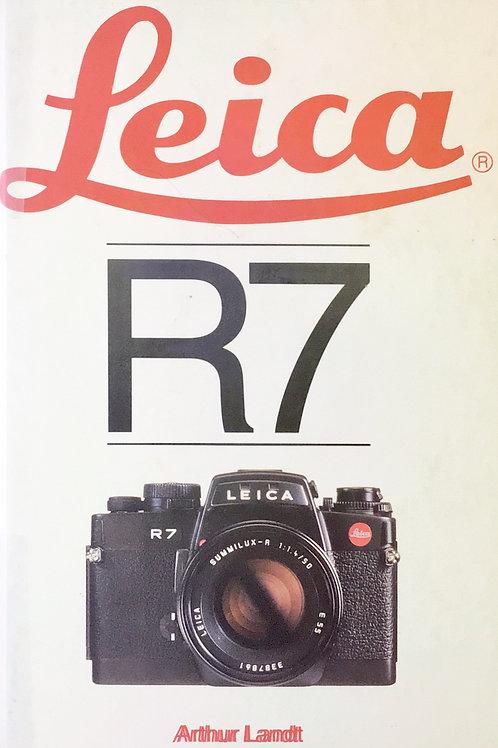 Leica R7 Companion Book By Arthur Landt