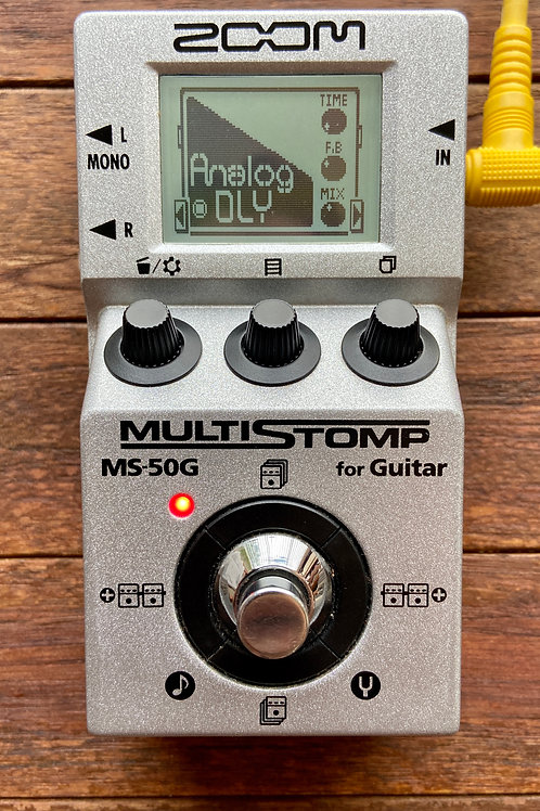 Zoom MS-50G MultiStomp Guitar Pedal (MS50G) (VG) - SOLD
