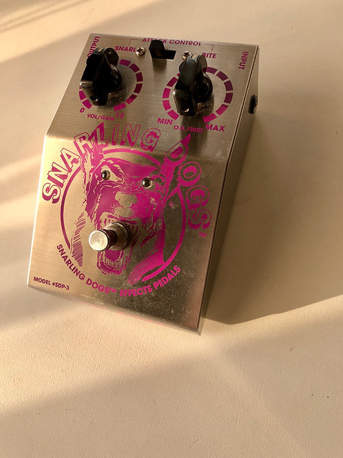 Snarling Dogs Fuzz Buzz SDP-3 Pedal USA (VG) - SOLD
