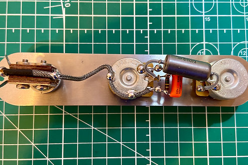 Labor of Love Handwired 3-Way Toggle Telecaster Prewired Kit 250K (N) - SOLD