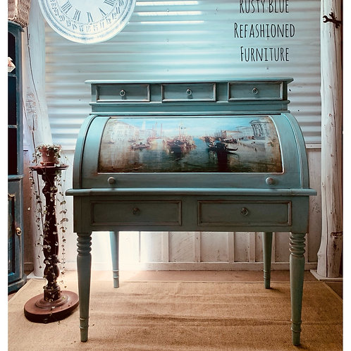 Sold  Venetian Roll Top Desk