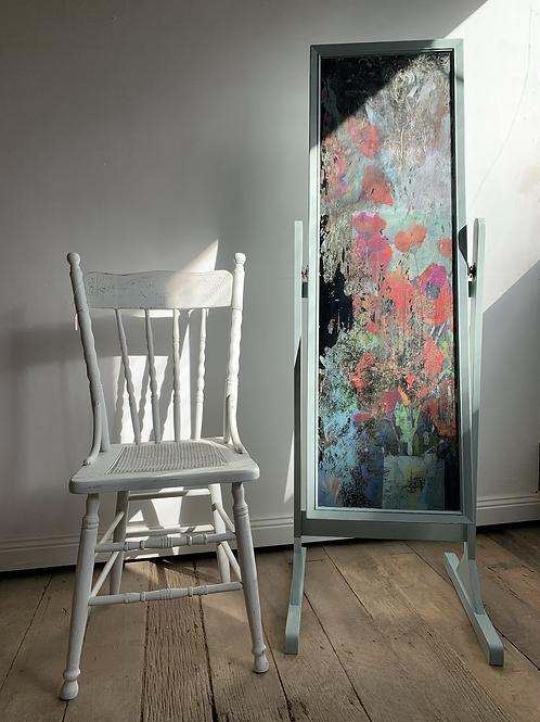 Sold Pending    Poppies Mirror
