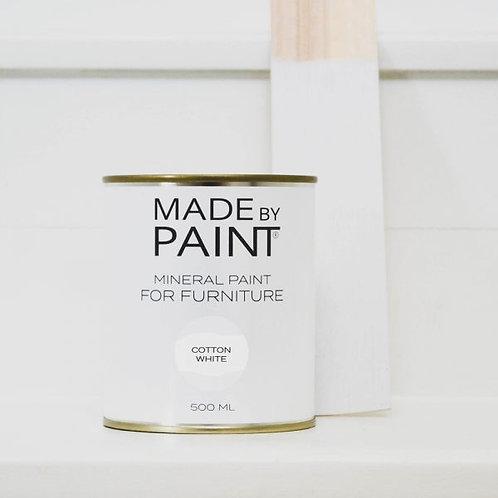 Cotton White Mineral Paint