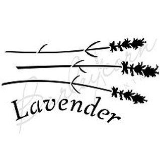 Lavender Stencil FS54