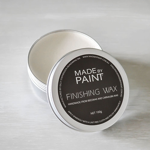 White Finishing Wax 100grams