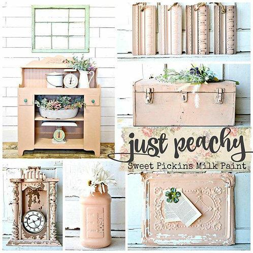 Just Peachy Sweet Pickins Mink Paint