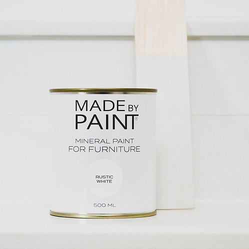 Rustic White Mineral Paint