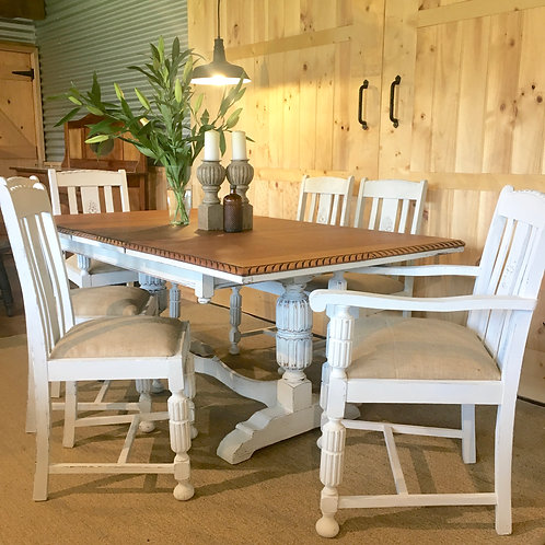 ###SOLD###Aspen Dinning Table and Chairs