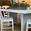 Thumbnail: SOLD  Shabby dinning table and chairs