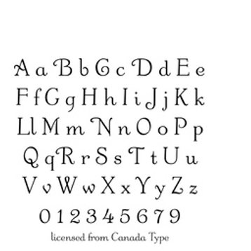 Odette Alphabet and Numbers T23-50