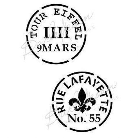 French Vintage Stamp FS 26