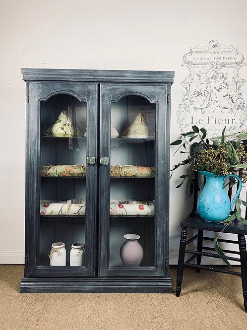 SOLD Blue Ink cabinet