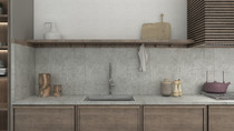 RUSTIC KITCHEN MARKETING SHELF ONLY - M