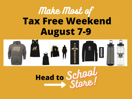 Make Most of Tax Free Weekend. Head to School store
