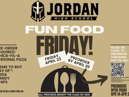 Pre-Order Open! Fun Food Friday: April 23