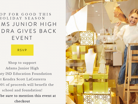 Kendra Scott Katy Event: November 19th
