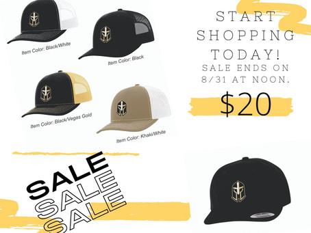 Stylish hats on Flash Sale!