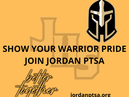 Show your Warrior Pride. Join PTSA