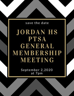 Sept 2, 2020: JHPTSA General Membership Meeting