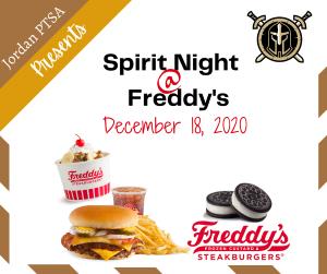 Spirit Night @ Freddy's  Frozen Custard & Steakburgers