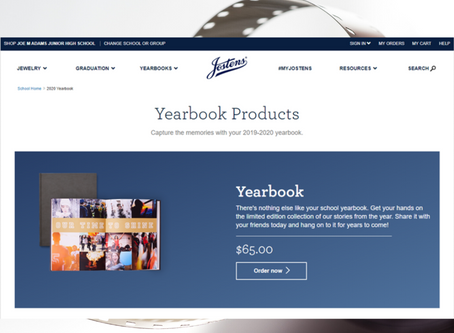 Yearbook Recognition Ads Deadline: February 13