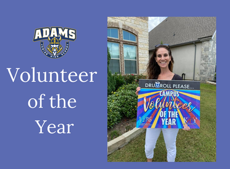 Volunteer of the Year - Erin LaBrache