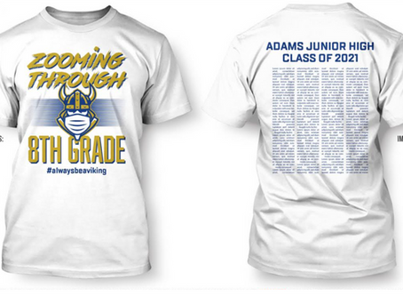 Eighth Graders - Get this Special Edition T-Shirt