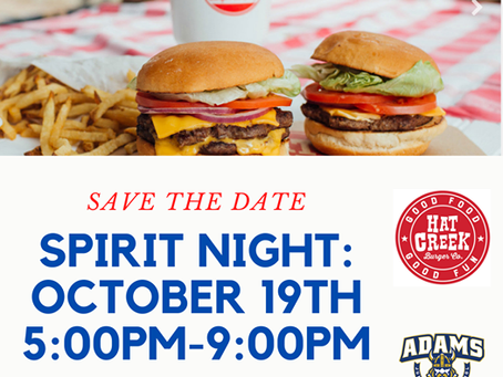 HAT CREEK SPIRIT NIGHT: October 19th