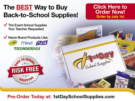 SCHOOL SUPPLY KITS: ORDER BY JULY 1