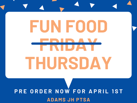 Fun Food Friday (... on a Thursday!)