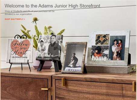 Adams Junior High Storefront on Shutterfly
