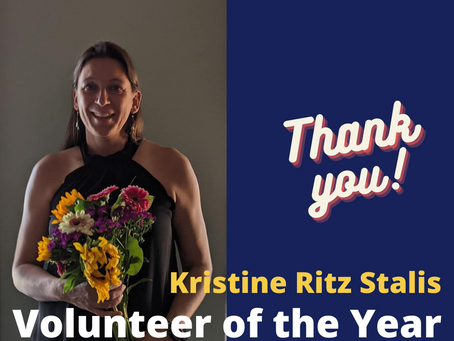 Volunteer of the Year - Kristine Ritz Stalis