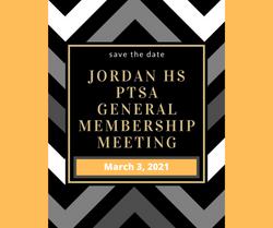 March 3, 2021: PTSA General Membership M