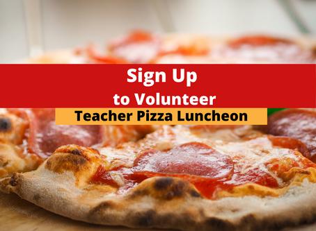 Sign Up to Spoil Adams Teachers