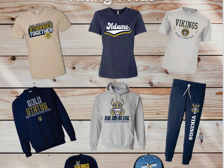 New Spirit Wear for 2021-22 Available for Pre-Orders