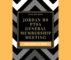 Nov 4, 2020: PTSA General Membership Meet