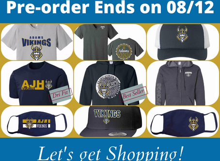 Grab the Swag! - Pre-order deadline is Aug 12