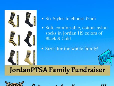 Fall Fun Family Fundraiser-Awesome Warrior Socks!
