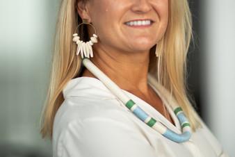 Summer Earrings in Cream