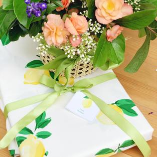 Cane Vase + Tablecloth