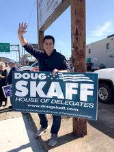 Doug Skaff Sign Waving