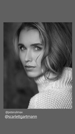 Model Scarlett - Photo Peter Müller